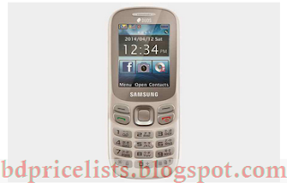 Samsung Metro 312 Full Specifications And Price in Bangladesh