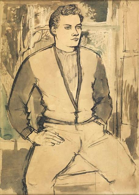 John Minton (1917-1957) Ricky Stride Maas Gallery