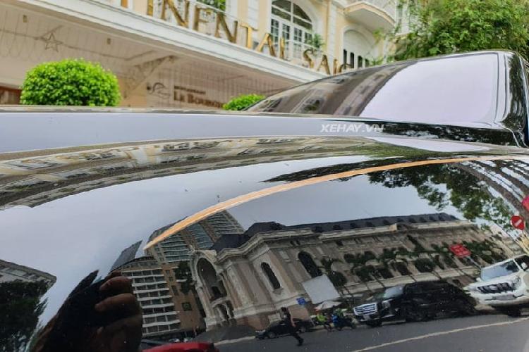 Ngắm Rolls-Royce Cullinan 'full black' hơn 41 tỷ ở Sài Gòn