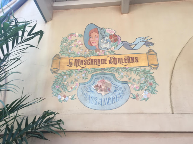 New Orleans Square Disneyland Wall Painting