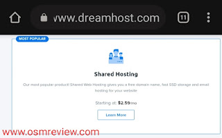 Shared Hosting Plans