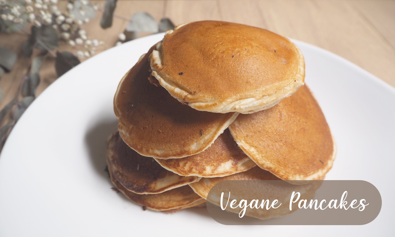 Rezept für vegane Pancakes