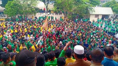 Ini Isi Petisi Aliansi Mahasiswa Pase yang Diteken Ketua DPRK Lhokseumawe dan Aceh Utara