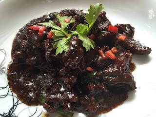 daging masak black pepper