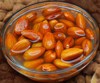 Why almonds are soaked
