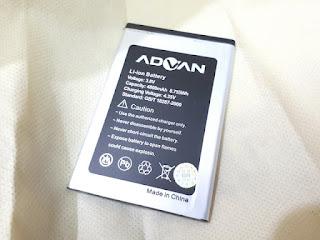Baterai Hape Advan I5C Lite I5C Duo Double Power 4800mAh