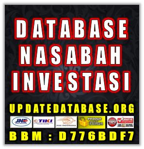 Database Nasabah Bank Prioritas Investasi