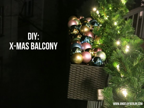 Diy Balkon Winter Wunderland The Nina Edition The Nina Edition