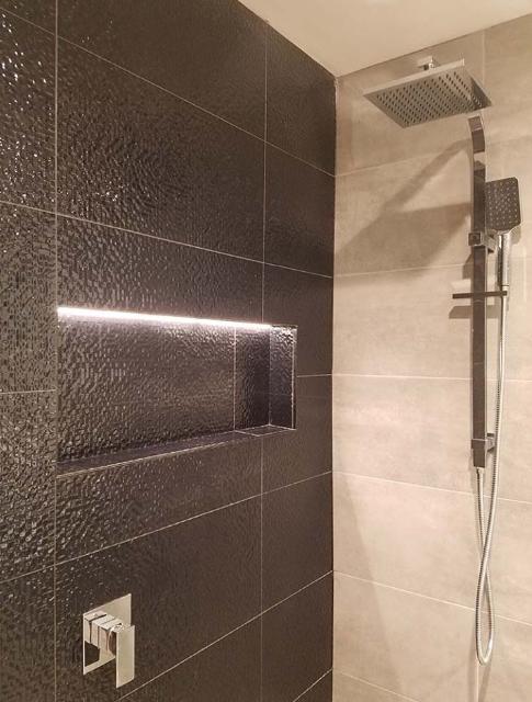 SHOWER LIGHTING RECESSED BATHROOM