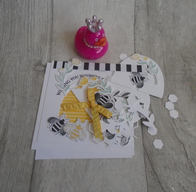 Craftyduckydoodah!, Honey Bee, Susan Simpson UK Independent Stampin' Up! Demonstrator, Hopping Around The World, Supplies available 24/7 from my online store, Spring / Summer 2020,