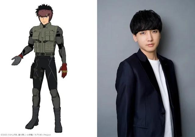 Spriggan añade a Chiaki Kobayashi como la voz de Yū Ominae