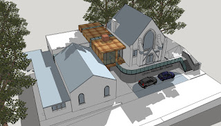 Lymm Methodist Church Sketch Extension