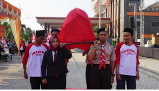 Napak Tilas Syuhadah Kemerdekaan KH Nawawi, Walikota Terima Replika Keranda