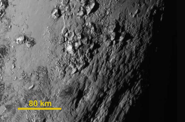 primeira imagem de Plutão em detalhes
