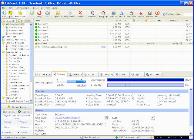 تحميل برنامج تنزيل تورنت للكمبيوتر - بيت كوميت BitComet 2019