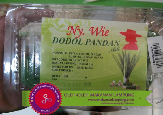 Dodol Pandan 23 Oleh Oleh Lampung Kekinian yang Wajib kamu Bawa Pulang