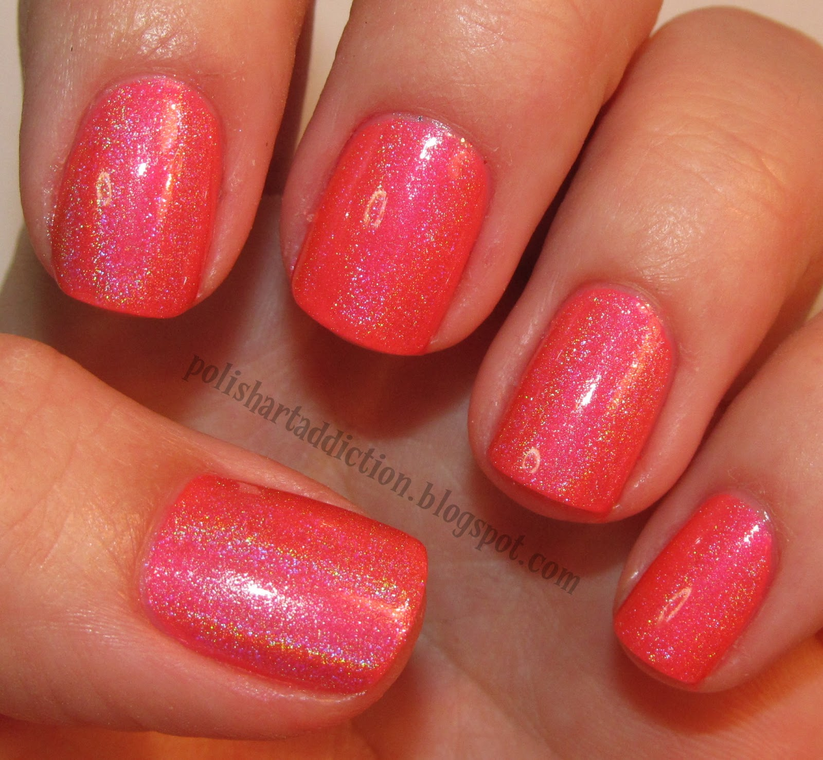 Neon Pink Holographic