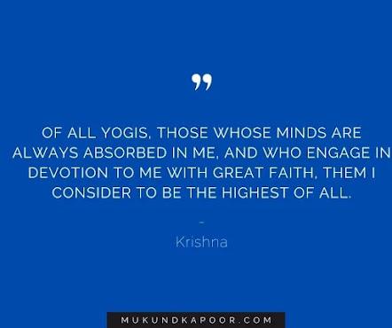 bhagavad gita quotes by krishna on love, war success, karma and more