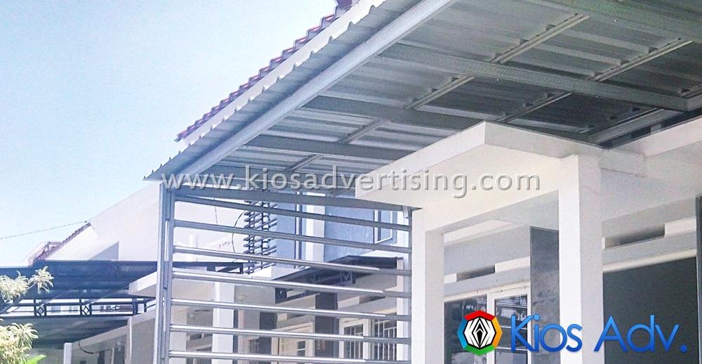 Jasa Pembuatan Kanopi Murah Galvalum Malang