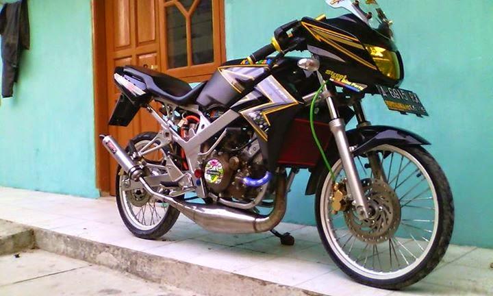 modifikasi motor ninja r 150 terbaru  tahun ini