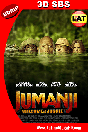 Jumanji En la Selva (2017) Latino FULL 3D SBS BDRIP 1080P ()