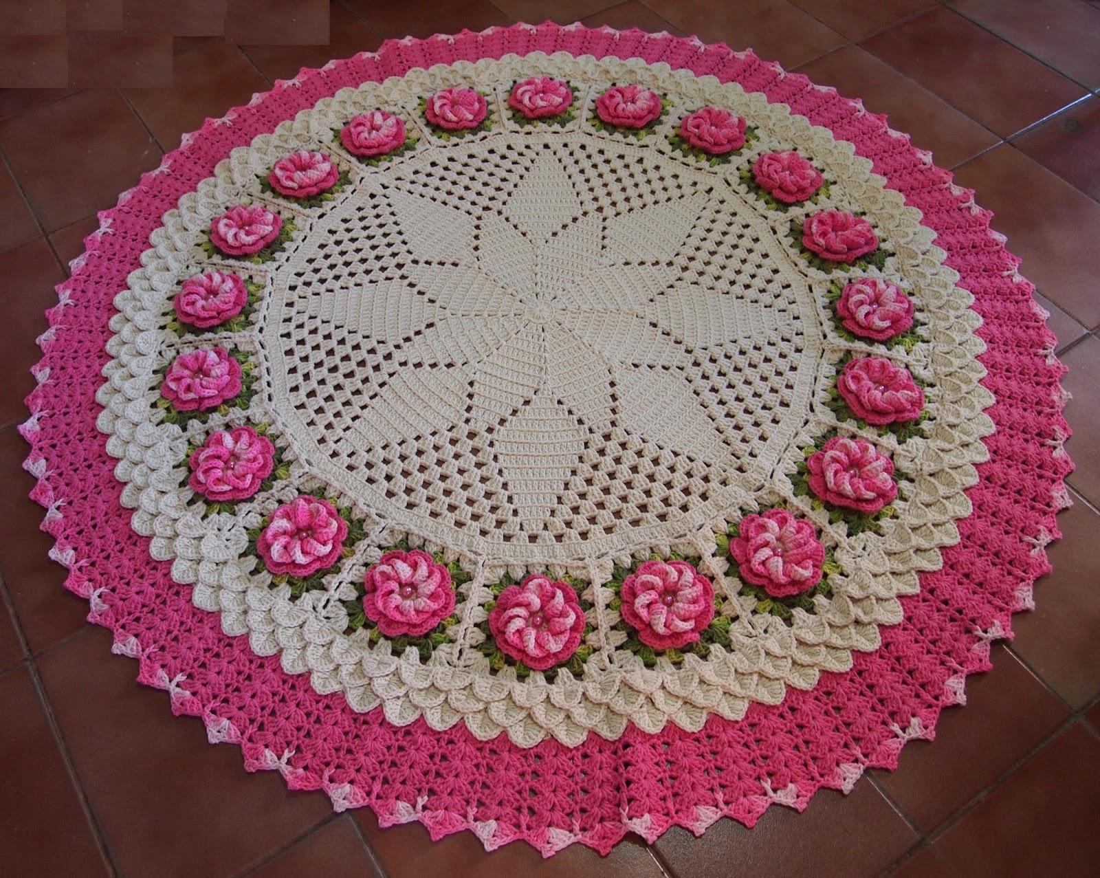Tapete Croch Para Sala Tapetes De Croch With Tapete Croch Para Sala  -> Tapete Pra Sala De Croche