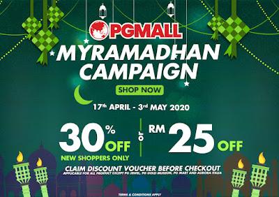 PG Mall, MyRamadhan Campaign, Online Shopping Platfotm,