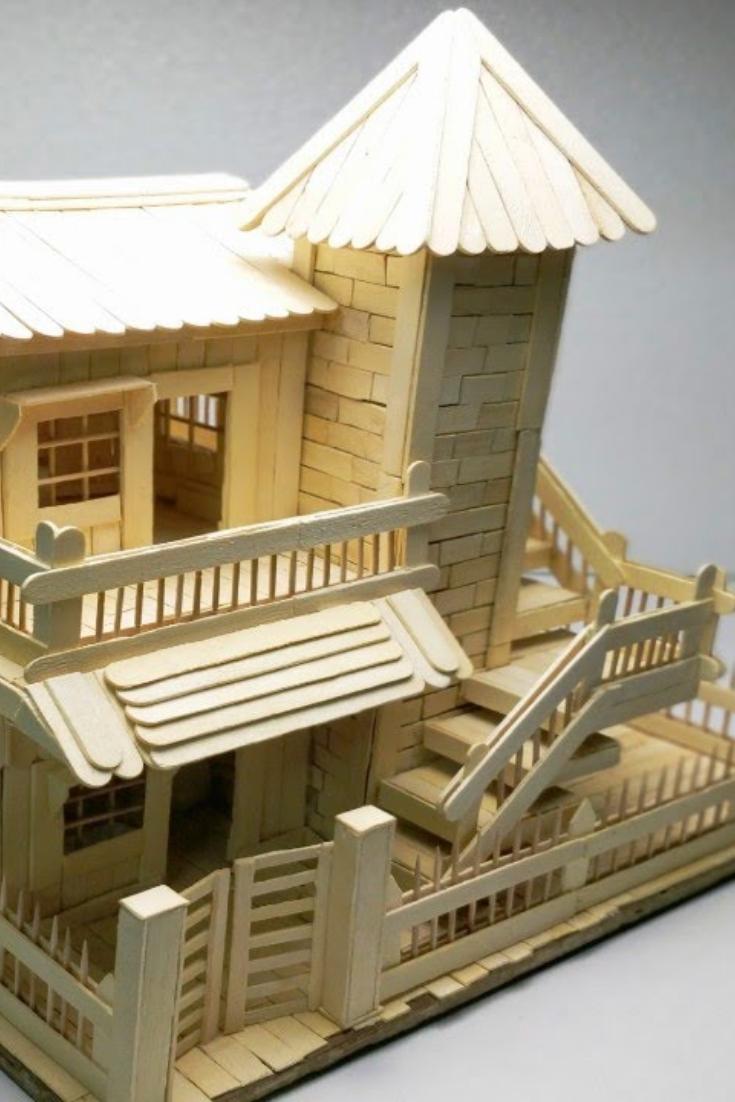 Cara Membuat Miniatur Gedung : membuat, miniatur, gedung, Rumah, 1080p, Membuat, Miniatur, Kardus