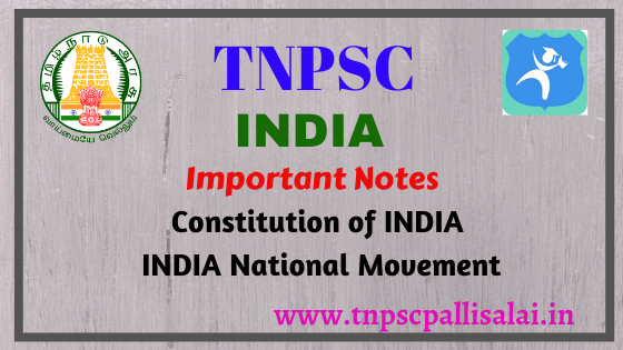 Important information regarding india for All TNPSC Exams