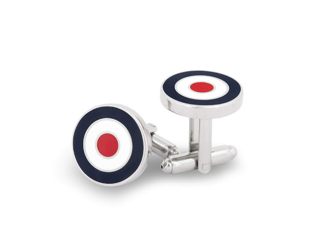 Royal British Legion RAF logo cufflinks