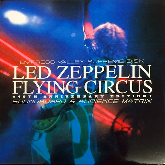 1975.02.12 Led Zeppelin Flying Circus 40th Anniversary Edition 9CD Boxset (SBD)(AUD)(MTX)