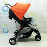 Kereta Bayi LightWeight Cocolate CH703 Compact3 - Orange