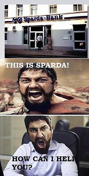 Männer mit Bart lustig - Das ist... Sparda Bank