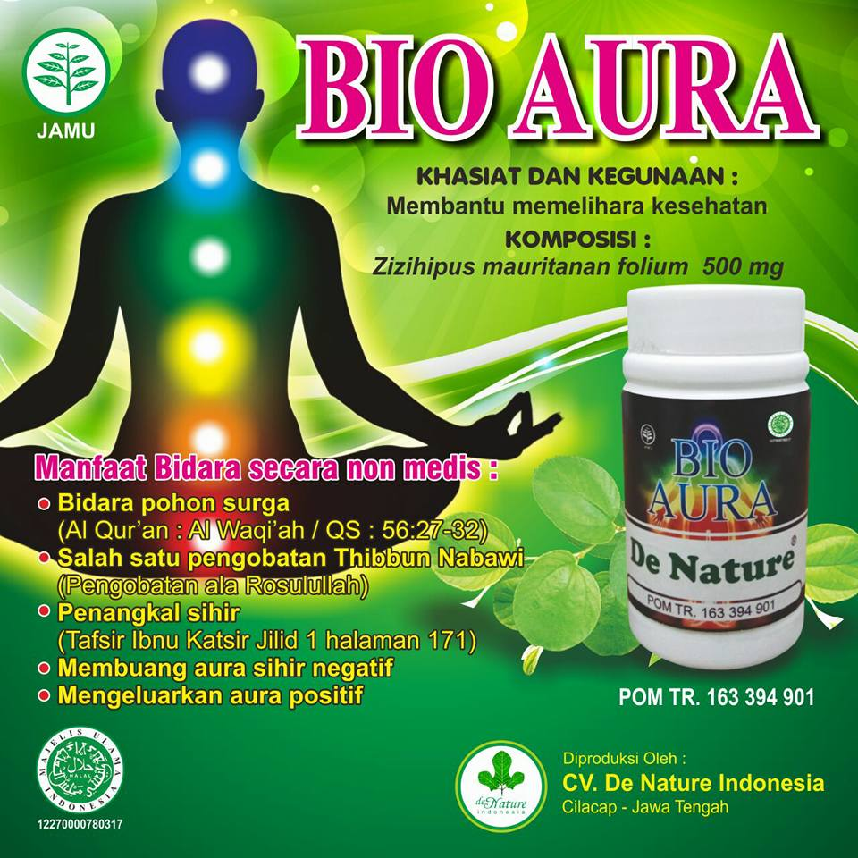 Bio Aura Herbal de Nature asli