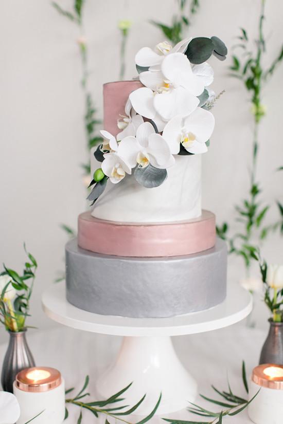 Lar doce ana casamento moderno com uma pegada quase industrial - Cake tolix ...