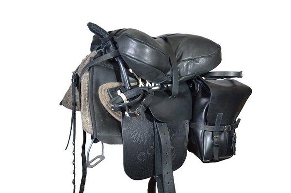 Казачье седло для лошади