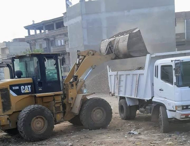 رفع ١٥٤ طن تراكمات خلال الحملات اليومية بمركز ومدينة أبو حمص .