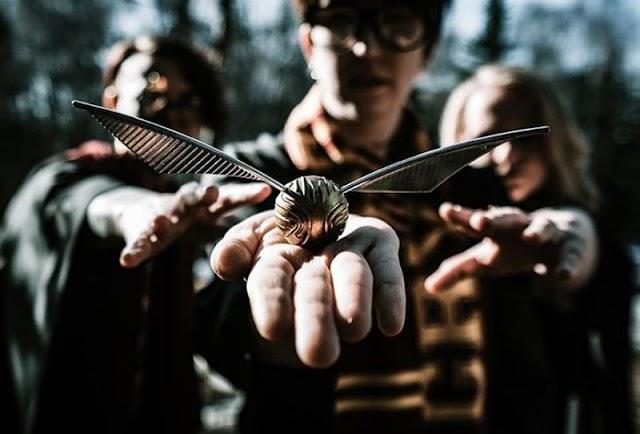 Летающий золотой снитч: лучшая игрушка для фанатов Гарри Поттера