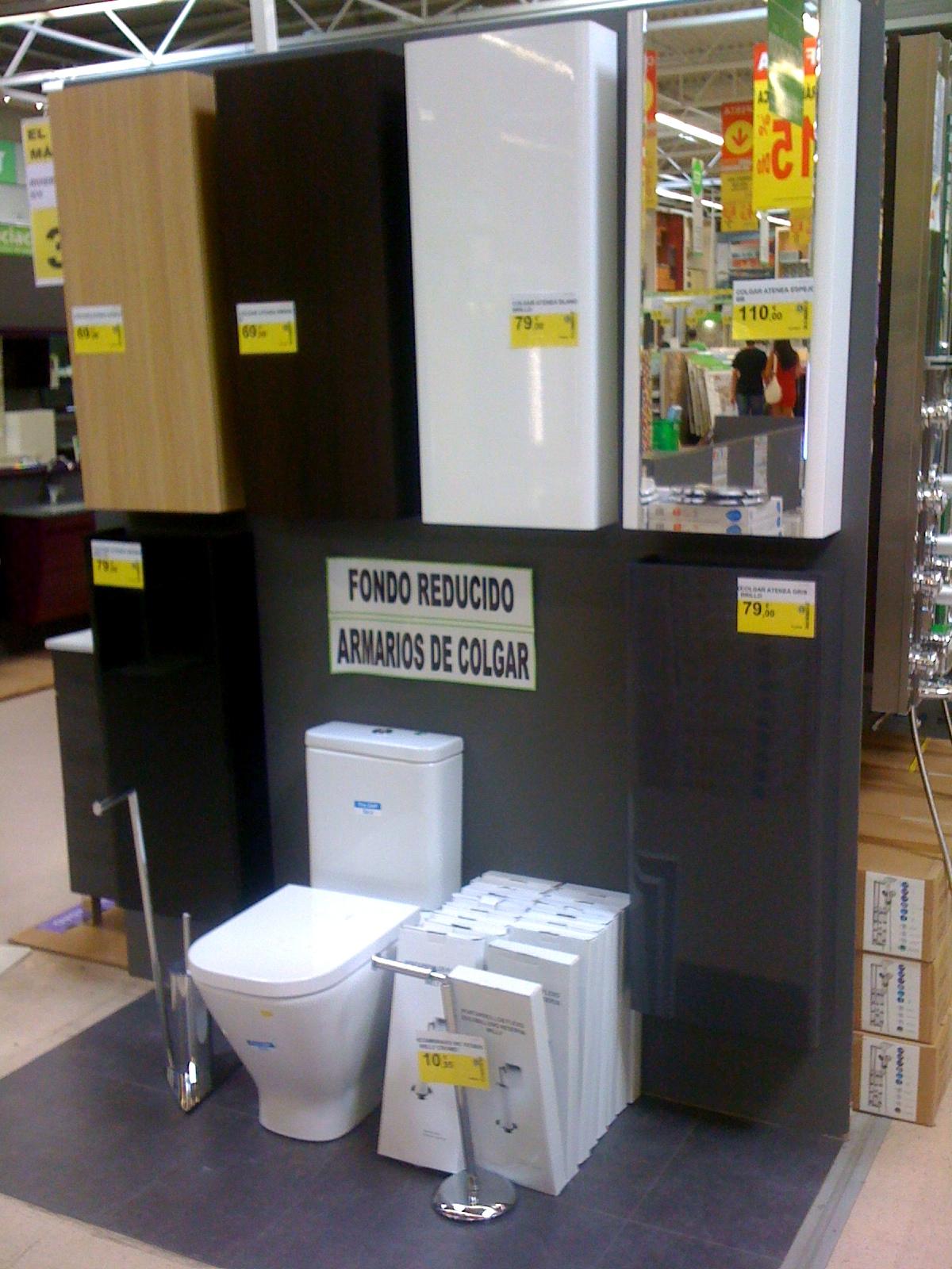 Ba o con ducha los muebles de ba o para colgar con fondo reducido 14 cm - Mueble para encima del inodoro ...