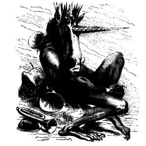 Goetia - Amdusias (ilustração)