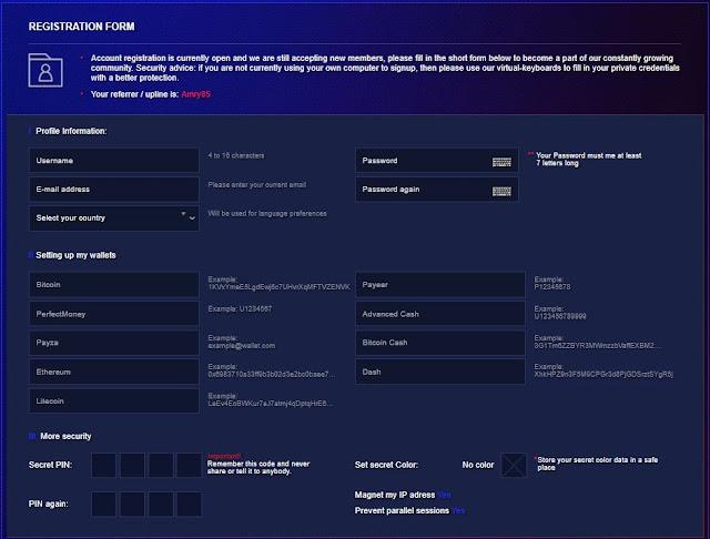 cara mendaftar program pelaburan laser online