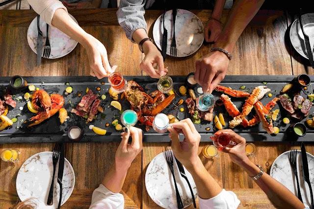 【灣仔美食】hEat 推出六呎巨型燒烤拼盤 頂級牛扒搭配海鮮