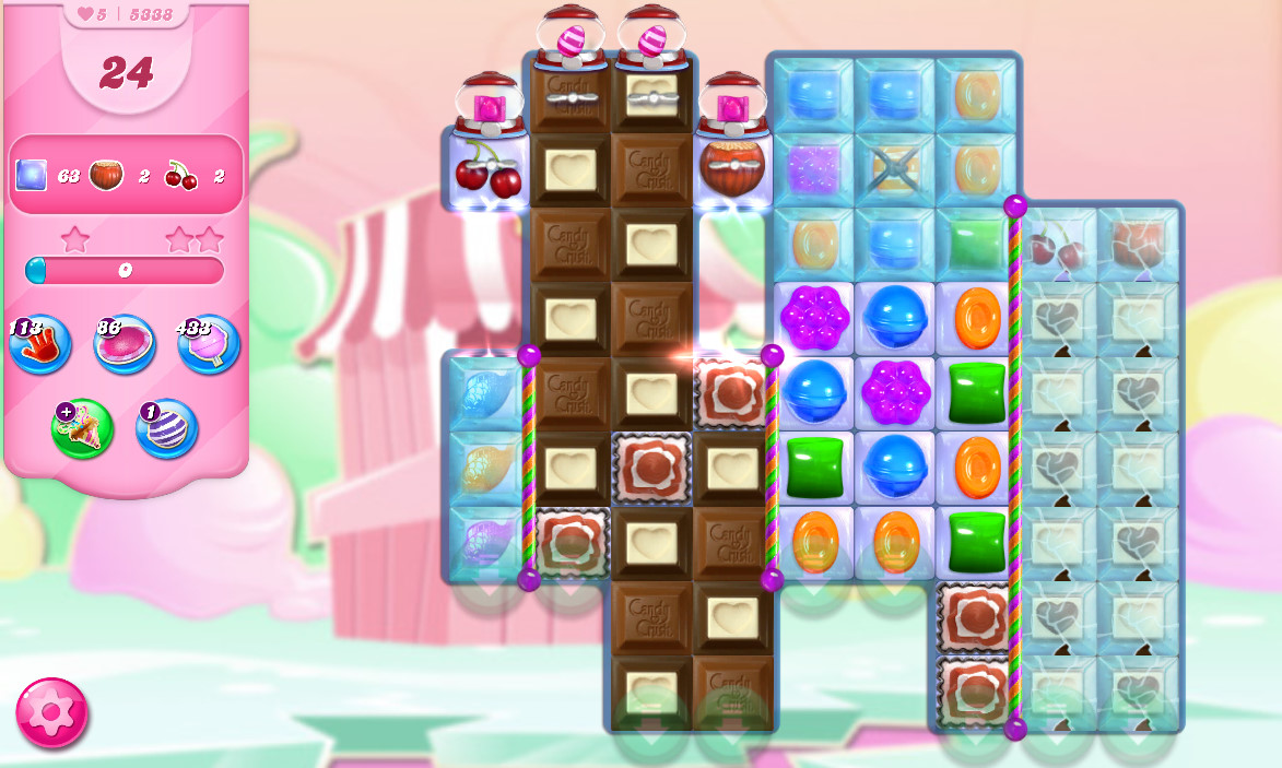 Candy Crush Saga level 5338