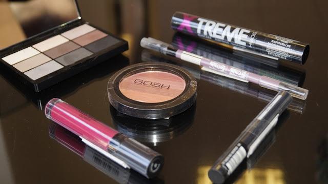 Makijaż wykonany kosmetykami Gosh i Lumene