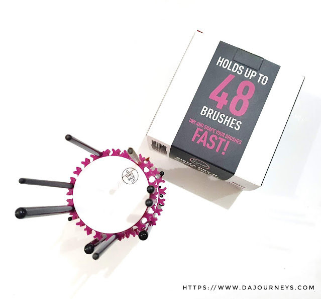 Review Sigma Dry'n Shape® Tower Eyes Brush