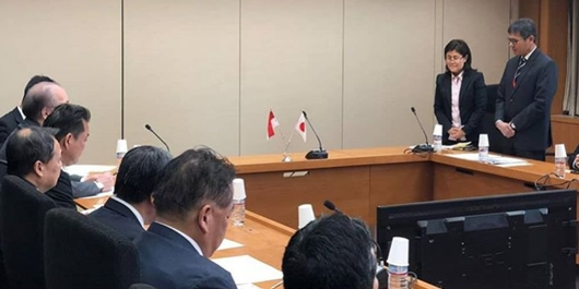 Berkunjung ke Jepang, Gubernur Irwan Tegaskan Komitmen Mempermudah Investasi