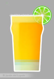 Cóctel con cerveza:  Beergarita