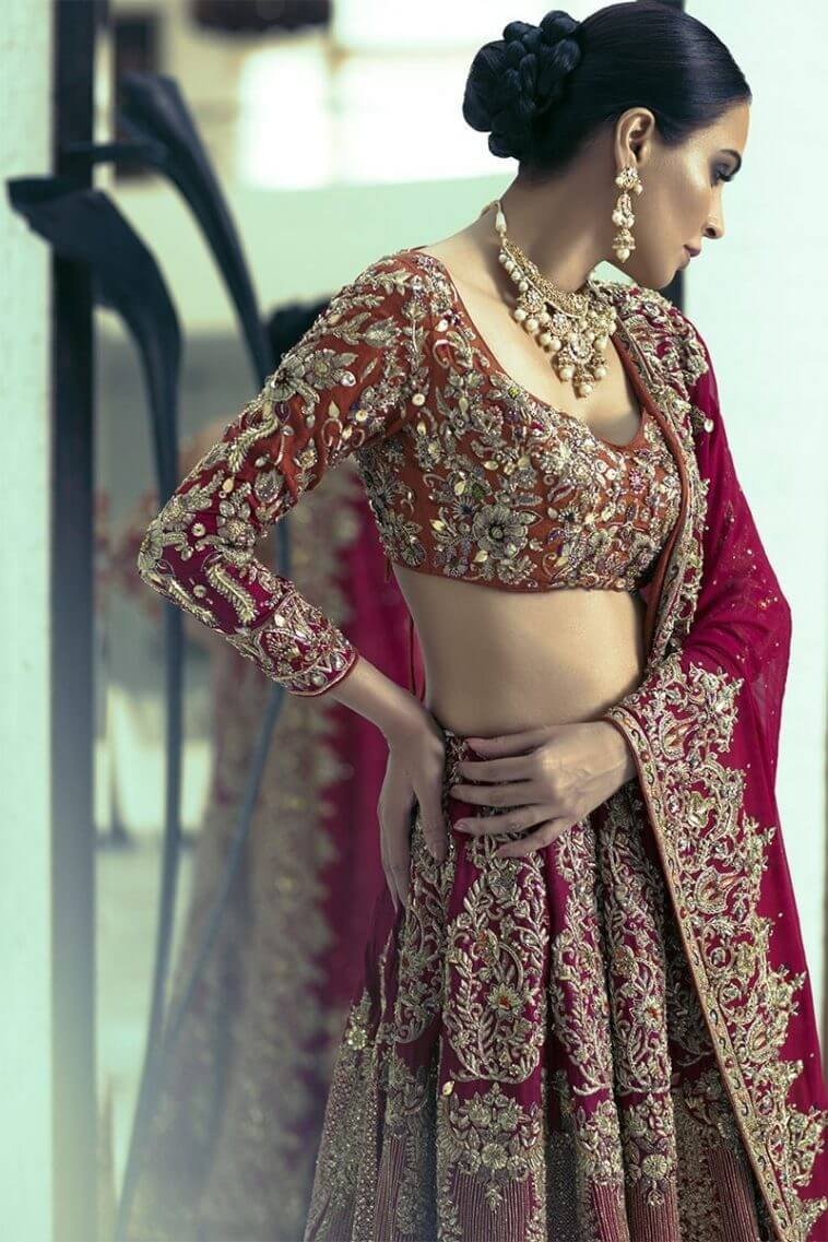 Shamsha Hashwani Bridal & Wedding Dresses for Barat, Walima and Mehndi