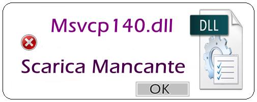 msvcp140 dll microsoft download