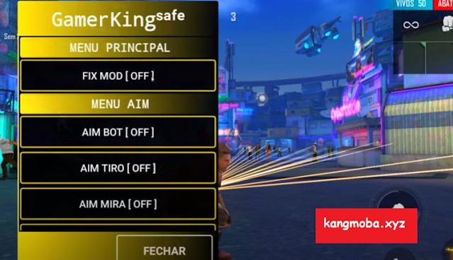 APK MOD GamerKing Safe Free Fire Antiban No Root